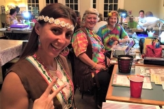 Retreats Hippie Theme Party